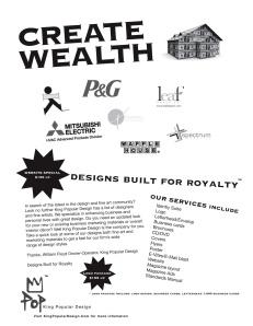 Design Built for Royalty