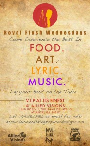 Royal Flush Wednesdays, Allied Visions, KingPop.