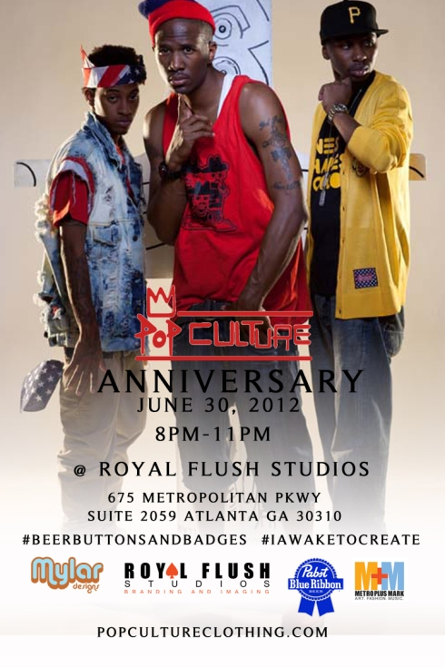 Pop Culture Clothing Anniversary Event